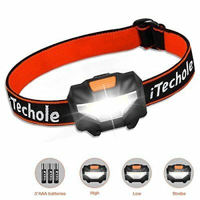 3 ... LED Head Torch iTechole Kids Headlamp with Super Bright 150 Lumens