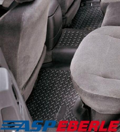 Tapis arrière caoutchouc la partie basse Baignoire Noir Jeep Cherokee XJ 84-01