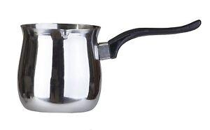 Pal Ed türkischer Wärmer aus Edelstahl Finjan Kaffeetopf 1.05L Kochgeschirr