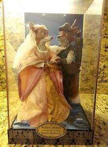 Disney-Designer-Doll-Collection-Robin-Hood-amp-Maid-Marian-Set-Limited-Edition