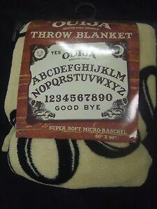 Ouija-Board-Evil-Ghost-Spirit-Game-Mystifying-Oracle-Plush-Fleece-Throw-Blanket