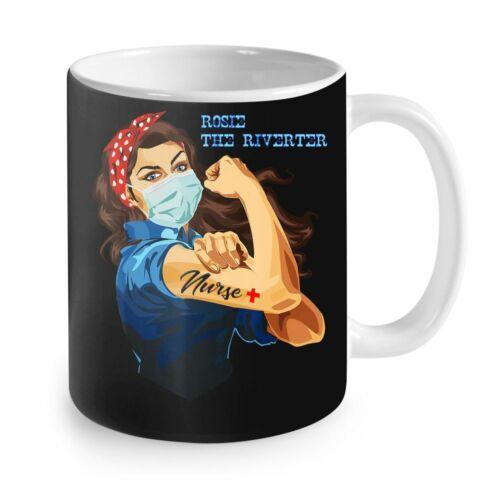 Woman Nurse Gift For Mother Nurse Mug 11oz Gift For Nurse Rosie The Riveter