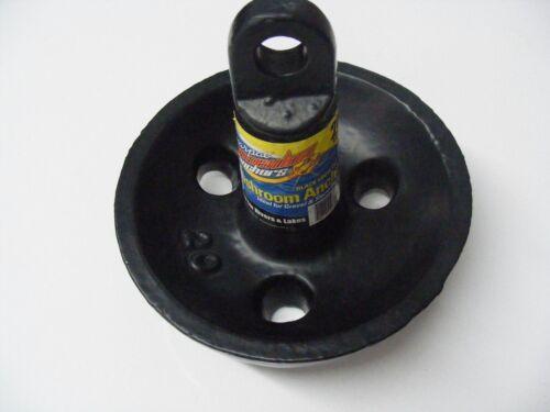 Poseidon Black Vinyl Coated Mushroom 20 lb Anchor For Rivers /& Lake 50033 MD