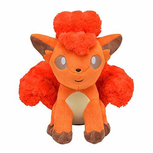 New Pokemon Center Original Plush Doll Fluffy Vulpix (Rokon) 1021-232577