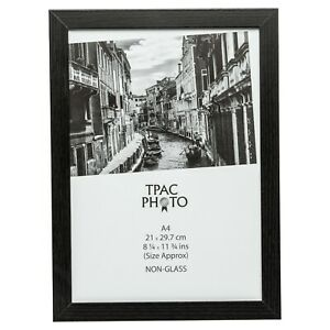 A4-Black-Certificate-Photo-Picture-Frame-With-Safety-Plexi-Glass-Home-Or-Office