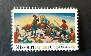 USA - 1971 Missouri statehood 18c UNUSED