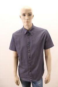 Camicia-JUST-CAVALLI-Uomo-Shirt-Chemise-Man-Taglia-Size-L