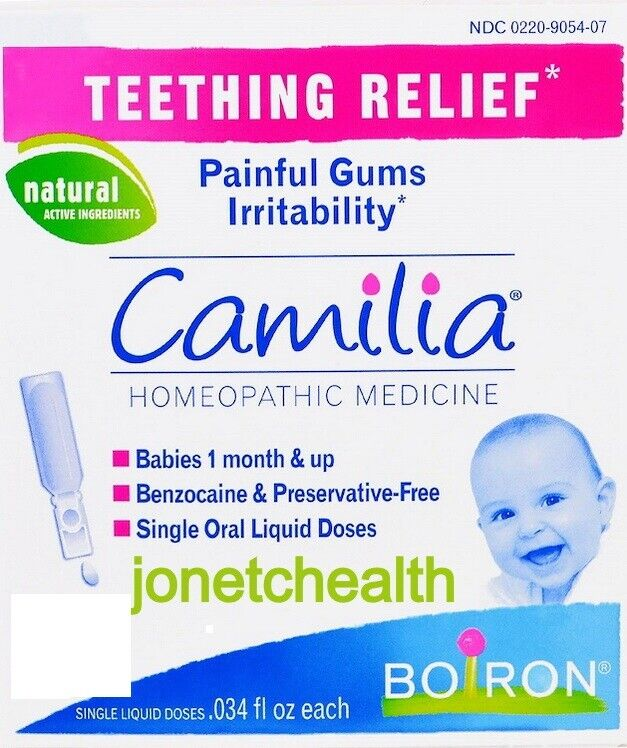 (30 Doses) Camilia Homeopathic Babies Teething Relief Painful Gums Irritability