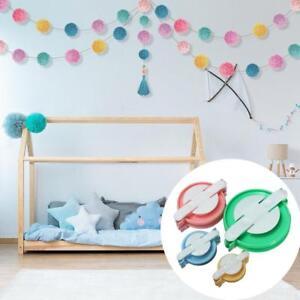 4-Sizes-Weaver-Needle-Craft-DIY-Wool-Ball-Pompom-Maker-Knitting-Loom-Tool-Craft
