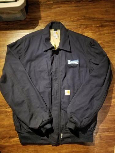 Carhartt FR Flame-Resistant HRC2 Jacket Navy Blue Men/'s Size M FRJ020DNY