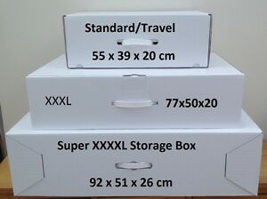 Wedding dress Storage & Travel boxes 3 Sizes. Includes largest box ...