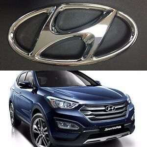 Rear Trunk Chrome H Logo Emblem for 13 14 Hyundai Santa Fe SPORT DM 863002W010