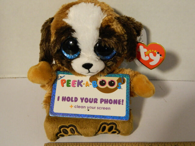 6feead9745a TY Peek-A-Boo Phone Holder With Screen Cleaner Bottom Pups 00004 for ...