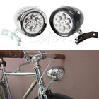 Retro Classic Vintage Bike Bicycle 6 LED Front Light Lamp Headlight With Bracket