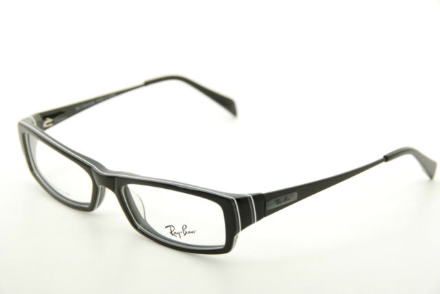 Authentic Ray Ban RB 5136a 2285 Black 53mm Titanium Frames ...