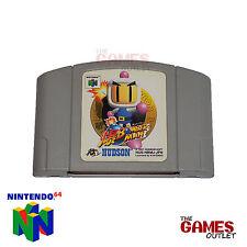 Nintendo 64 - N64 Japanese Game - Bomberman 64 - NTSC J