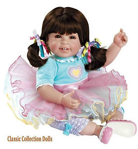 """SUGAR RUSH""- ADORABLE QUALITY PLAY DOLL FROM ADORA.- EU SAFETY CONFORMING - NEW"