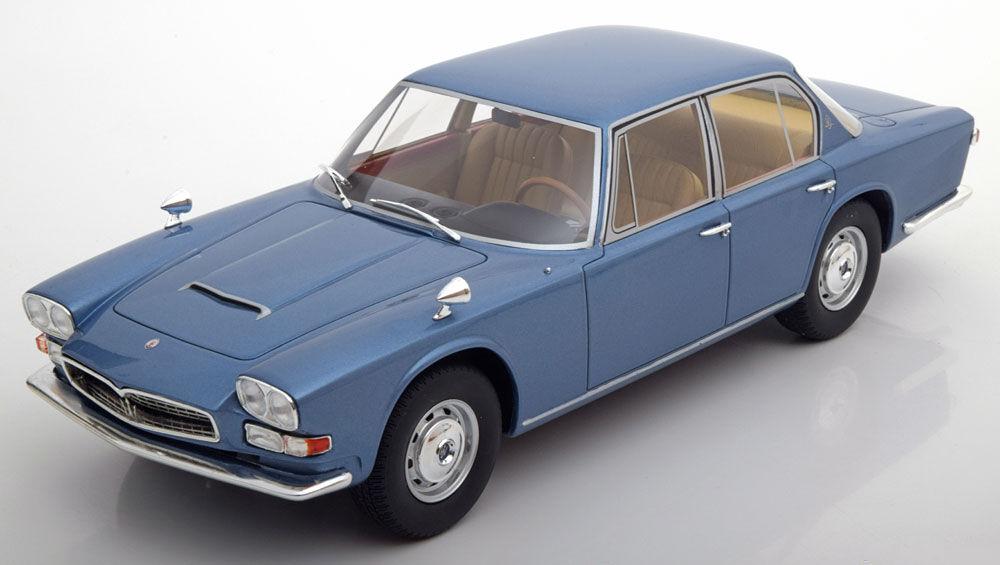 1966 Maserati Quattroporte 1 Blu Metallico da Bos Modelli le Of 1000 1/18 Scala