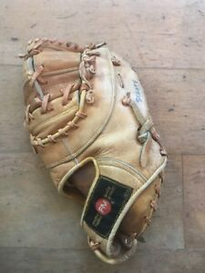 Vintage-collectible-1970s-FedMart-FM-50-Pro-Model-12-034-RHT-Baseball-Glove-A5