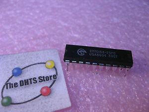 CY7C168-25PC-Cypress-Static-RAM-SRAM-IC-4Kbitx4-25nS-NOS-Qty-1