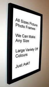 image is loading black photo picture frame mount 19mm 8x8 8x9