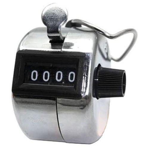 chromDesign Handzähler Stückzähler Mengenzähler Schrittzähler Klicker Zähler w4w