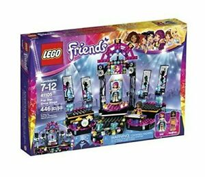 LEGO-Friends-41105-Pop-Star-Show-Stage-Building-Kit-New-With-Box-Damage-7C