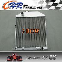 1942 43 44 45 46 47 1948 Ford/mercury Cars W/chevy Engine Aluminum Radiator