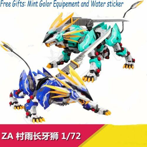 New ZA Model 1//72 Mechanical beast MURASAME LIGER TUSKS LION Assemble Kits