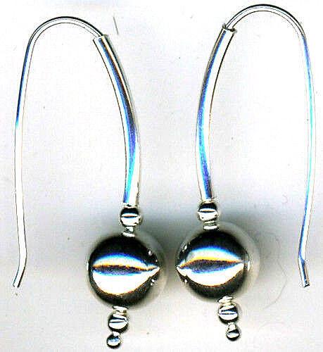 "Dangle Earrings    Length 1.1//2/""  40mm 925 Sterling Silver Turquoise Drop"