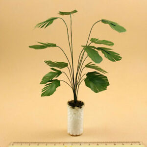 1:12 Dollhouse Accessory Plants Bonsai Miniatures Potted Landscape Decoration