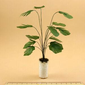 1:12 Dollhouse Accessory Plants Bonsai Miniatures Potted Landscape Decoration