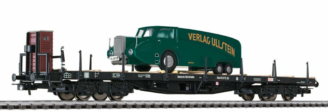Liliput 235754 coches plana SSI con bremserhaus con meneador camiones DRG EP. II ho nuevo