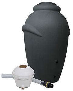 Ondis24 Regenwassertonne Regenwasser Amphore Wassertank 360 L + Füllautomat