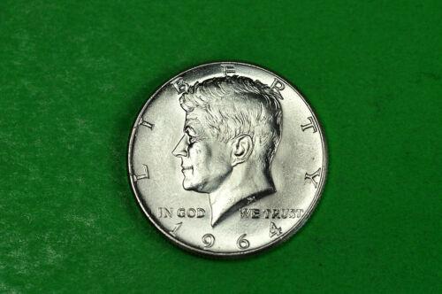 1964-P Choice   BU  Mint State  Kennedy  SILVER  Half  Dollar 90/% Silver
