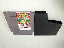Krusty's Fun House nes Nintendo juego sólo el módulo