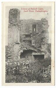 POSTCARDS-SCOTLAND-AYRSHIRE-DALMELLINGTON-RP-Interior-of-Balloch-Castle