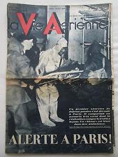 VIE AERIENNE 55 1936 DEFENSE PASSIVE PARIS SAIGON JAPY CAUDRON GOELAND LAULHE