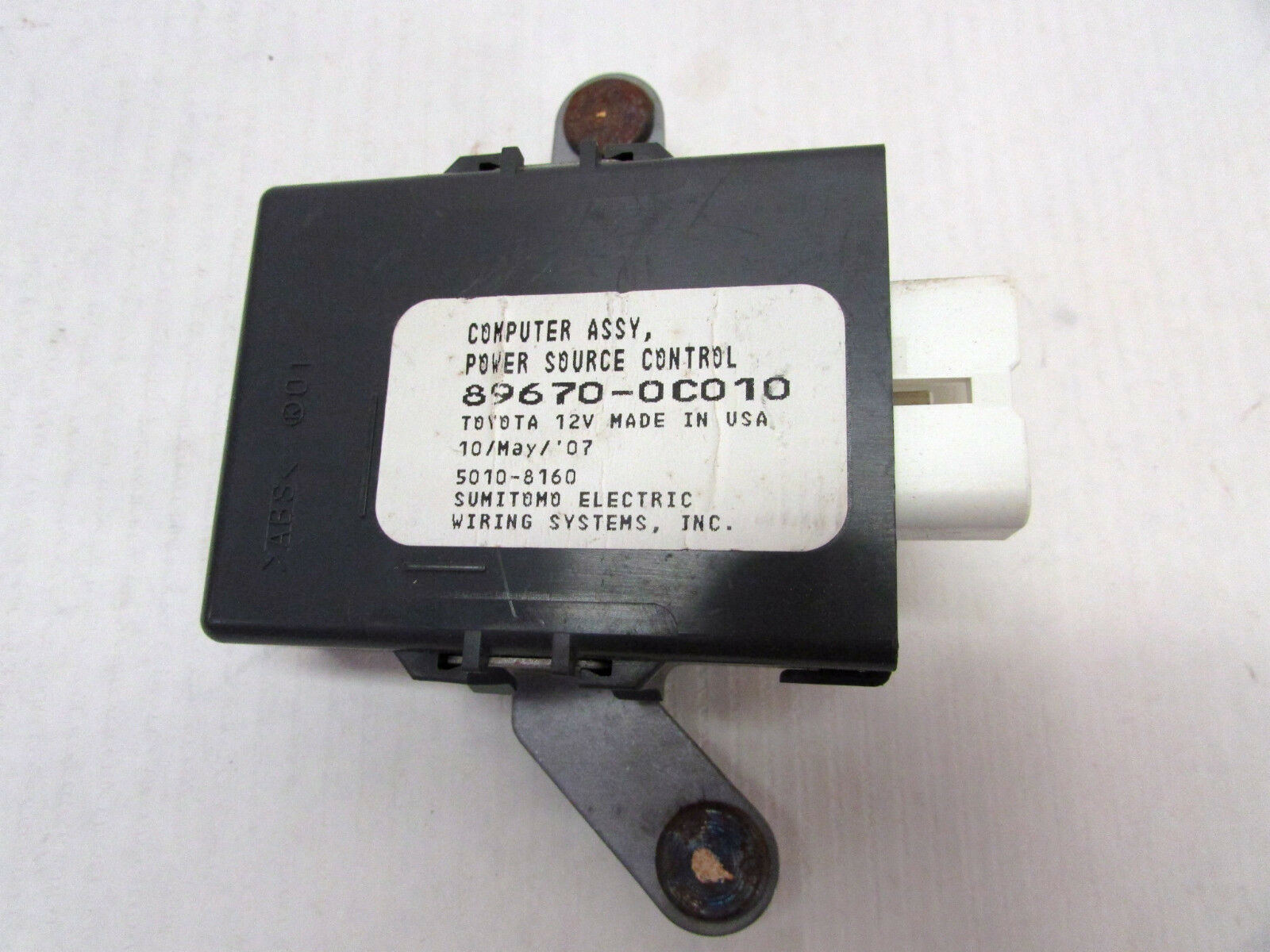 07 10 Toyota Tundra Power Source Control Module 6104 Ebay Sumitomo Electric Wiring Systems