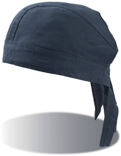 BANDANA PIRATA con NODO Copricapo CHEF Sottocasco MOTO Teschio CAPPELLINO Hat