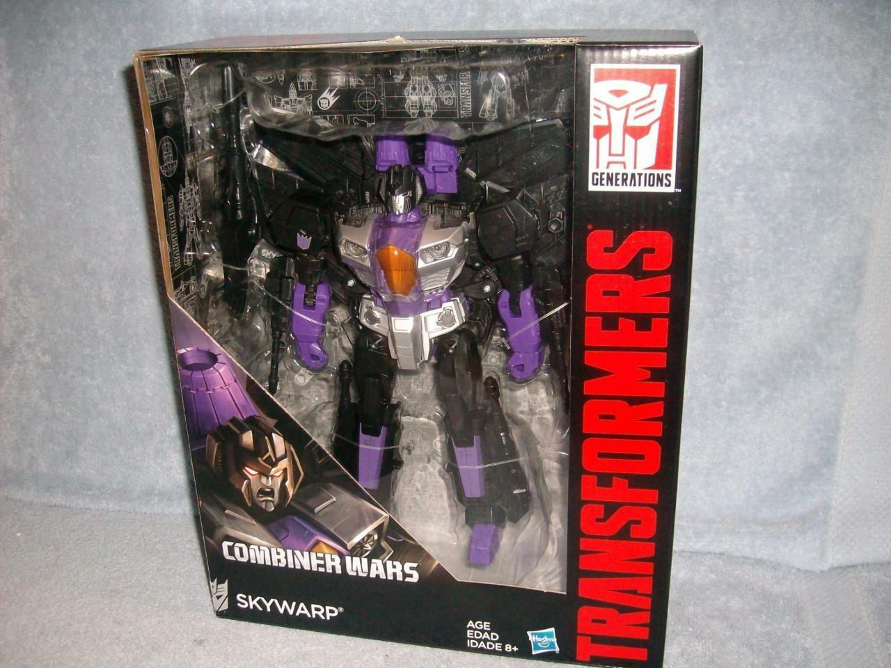 Skywarp Decepticon Combiner Wars Leader Class Transformers Hasbro 2015 New