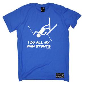 Ski I Do All My Own Skiing Ski T-Shirt Funny Novelty Mens tee TShirt