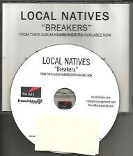 The National Produced LOCAL NATIVES Breakers RARE TST PRESS PROMO DJ CD Single