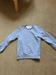 Details about Reigning Champ Midweight Terry Crewneck Sweatshirt . Light Gray Mens Small
