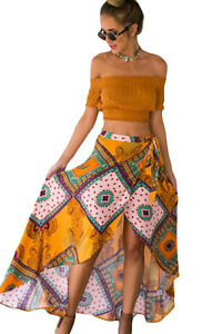 Gerade Tribal Print Sarong Wrap Skirt Beach Wear Cover- Up Holiday Summer One Size