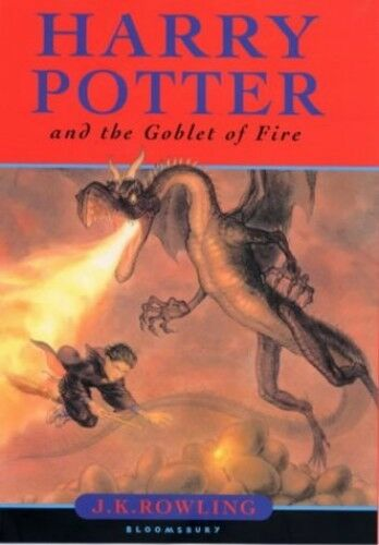 1 of 1 - Harry Potter and the Goblet of Fire (Book 4) by Rowling, J. K. 074754624X The