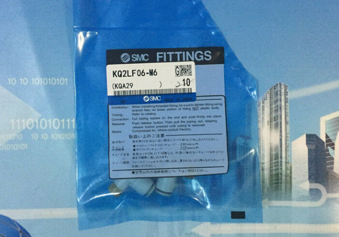 1Bag 10pcs SMC KQ2LF06-M6 KQ2LF06M6 Fittings Free Shipping TT