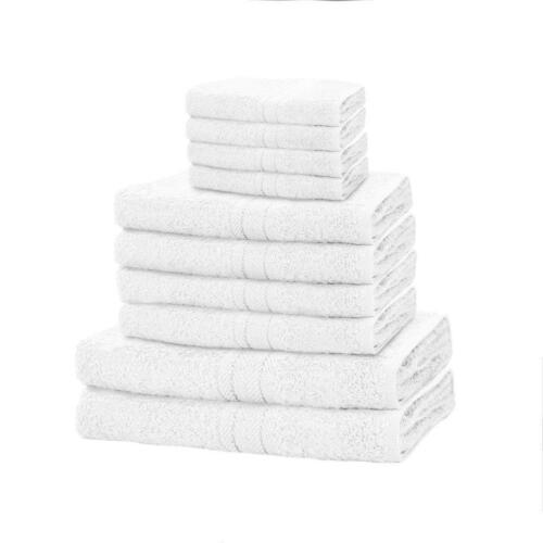 100/% Egyptian Cotton Bale Set Luxurious /& Highly Absorbent 10 PC Towel Bale Set