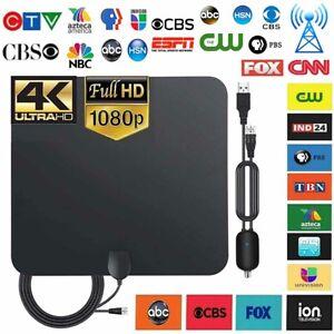 5600 Mile Range HDTV Antenna 4K HD Indoor Digital TV Aerial Signal Amplifier