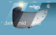 SHOEI VISIERA cwr-1 Photochromic selbsttönend per NXR, X-Spirit III e Ryd